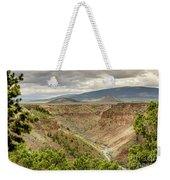Rio Grande Gorge At Wild Rivers Recreation Area Weekender Tote Bag