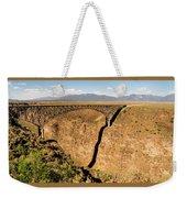 Rio Grande Gorge Bridge Taos New Mexico Weekender Tote Bag