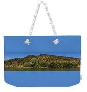 Rio Grande Panorama Pilar New Mexico Weekender Tote Bag