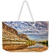 Rio Grande River Oil Painting Weekender Tote Bag