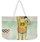 Rio2016 - Shot Putt Weekender Tote Bag
