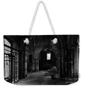 Rioseco Abandoned Abbey Naves Bw Weekender Tote Bag