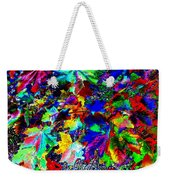 Riot Of Color Weekender Tote Bag