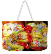 Ripe Bananas In A Box At The Store Weekender Tote Bag