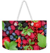 Ripe Of  Fresh Berries Weekender Tote Bag