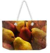Ripe Pears And Two Persimmons Weekender Tote Bag