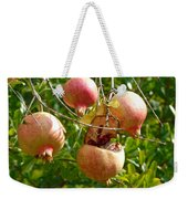 Ripe Pomegranates Weekender Tote Bag