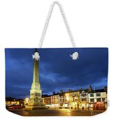 Ripon Market Place At Dusk Weekender Tote Bag