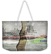 Ripped While Flying Weekender Tote Bag