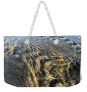 Rippled Gold Weekender Tote Bag