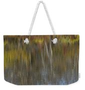 Rippled Reflection Weekender Tote Bag