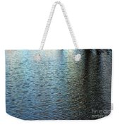 Ripples And Reflections Abstract Weekender Tote Bag
