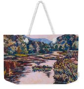 Ripples On The Little River Weekender Tote Bag