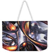 Rippling Fantasy Abstract Weekender Tote Bag