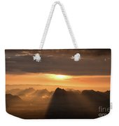 Rise Light Life Weekender Tote Bag