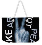 Rise Peace Weekender Tote Bag