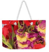 Rising Flowers Weekender Tote Bag