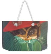 Rita Cat Weekender Tote Bag