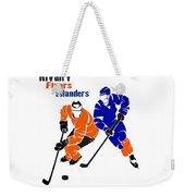Rivalry Flyers Islanders Shirt Weekender Tote Bag