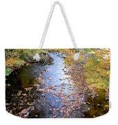River 3 Weekender Tote Bag