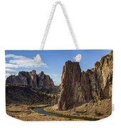 River And Rock Weekender Tote Bag