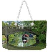 River At Harlow Mill Weekender Tote Bag
