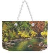 River At Hidden Acres 1. Weekender Tote Bag