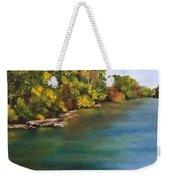 River At Hidden Acres 2. Weekender Tote Bag