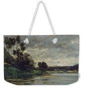 River Bank Weekender Tote Bag