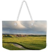 River Below The Clouds Weekender Tote Bag