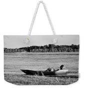 River Canoe Weekender Tote Bag