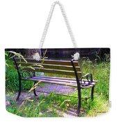 River Fishing Bench Weekender Tote Bag