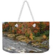 River Foliage Weekender Tote Bag