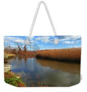 River Hudson Autumn Creek Weekender Tote Bag