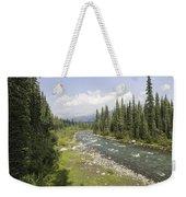 River In Denali National Park Weekender Tote Bag