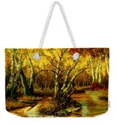 River In The Forest Weekender Tote Bag