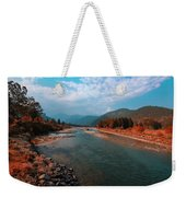 River In The Kingdom Of Happiness Weekender Tote Bag