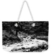 River In The Mountains Weekender Tote Bag