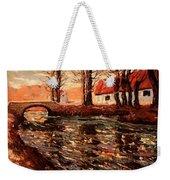 River Landscape Weekender Tote Bag