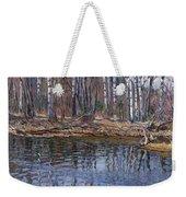 River Landscape Nikolai Petrovich Bogdanov-belsky Weekender Tote Bag