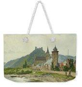 River Landscape Of The Rhine Weekender Tote Bag