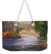 River Light Weekender Tote Bag
