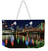 River Lights 2017 Weekender Tote Bag
