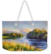 River Moy At Ballina Weekender Tote Bag