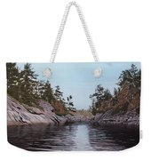 River Narrows Weekender Tote Bag