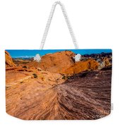 River Of Erosion Weekender Tote Bag