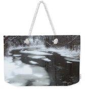 River Of Melting Ice Weekender Tote Bag