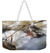 River Rapids Weekender Tote Bag
