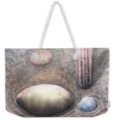 River Rock 1 Weekender Tote Bag