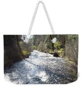 River Runs Through It Weekender Tote Bag